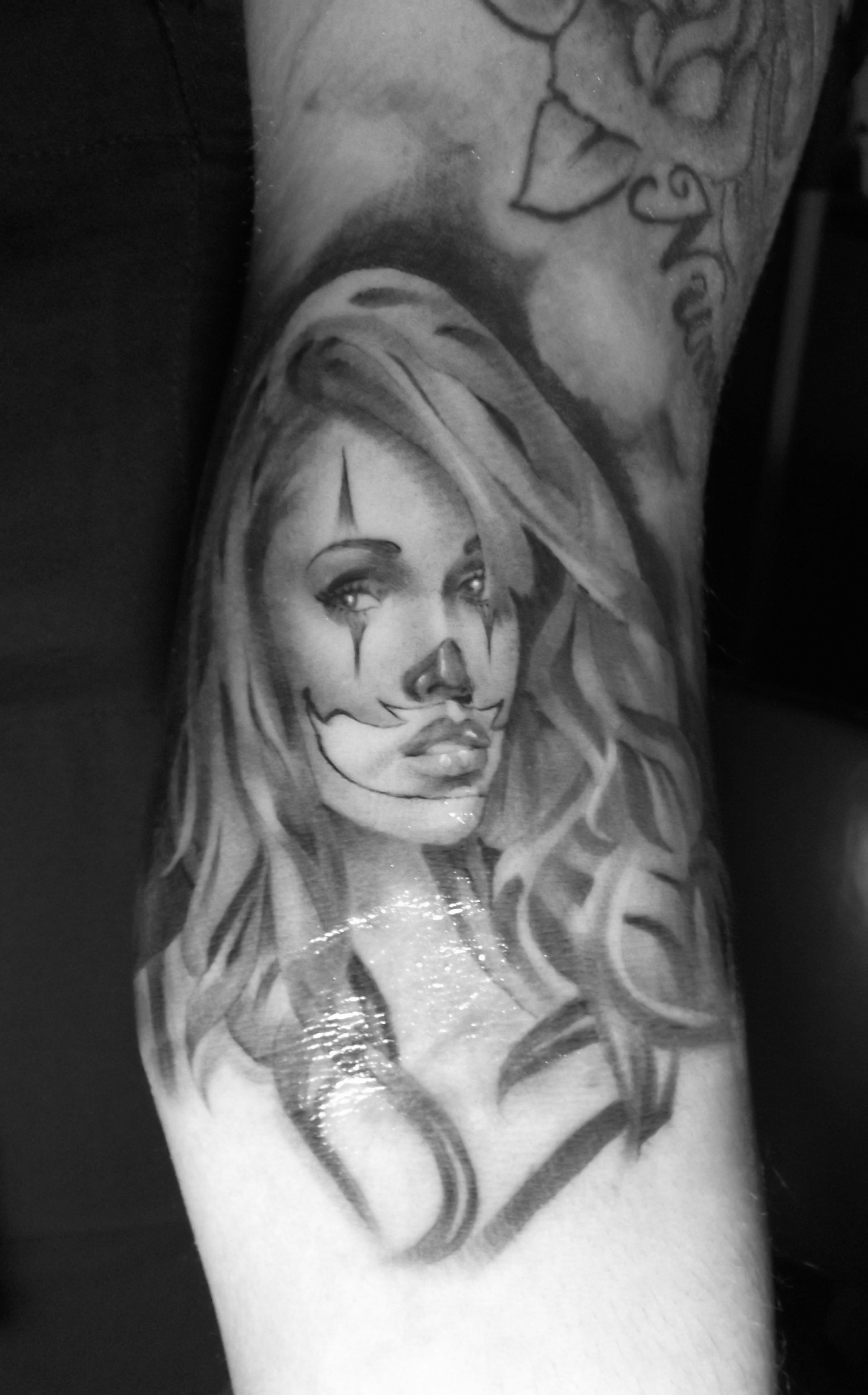 from Thatcher tattoo outlines of nude girls