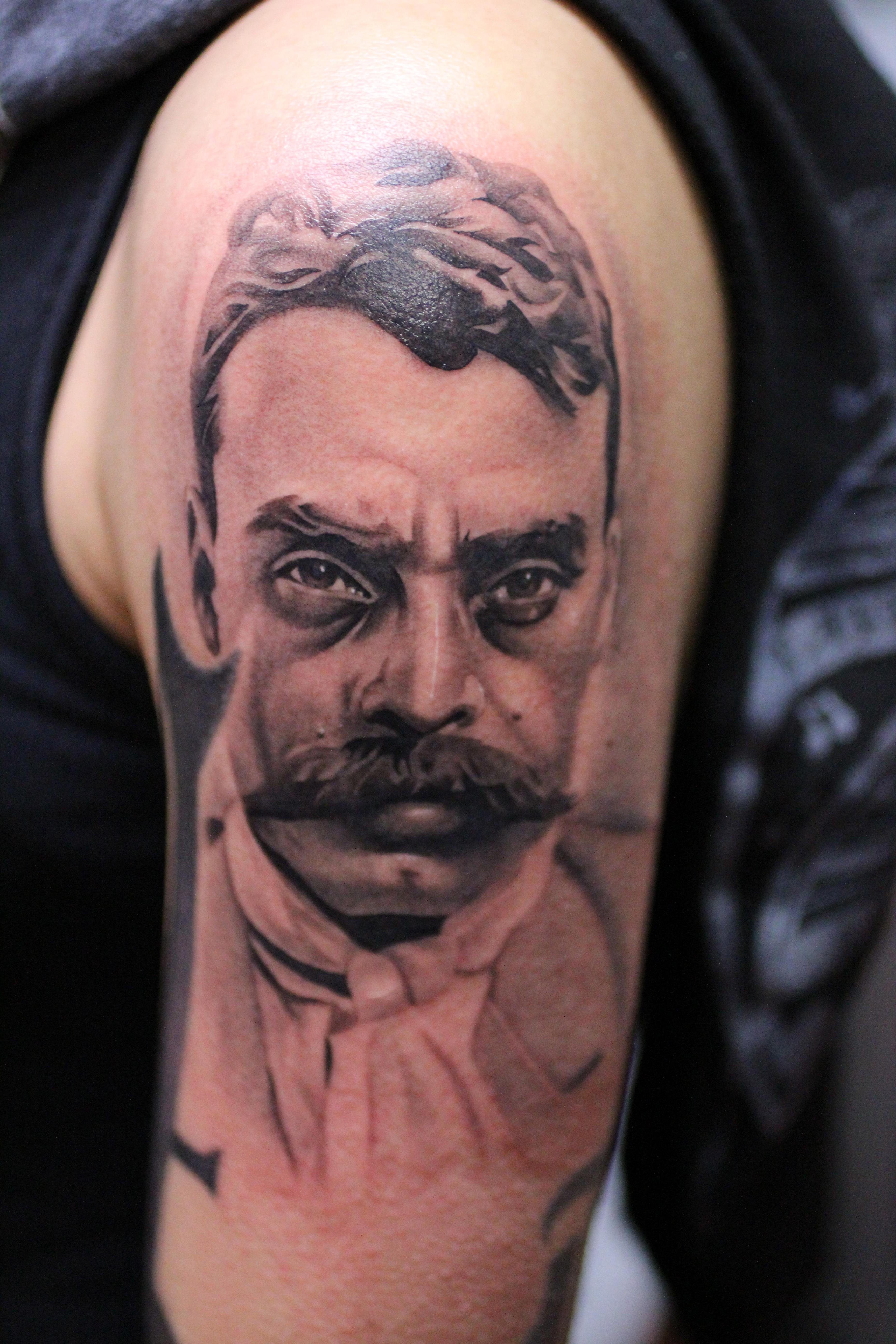 Bryangvargas american dream tattoo page 4 for Emiliano zapata tattoo
